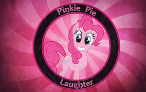 Simple Pinkie Pie Wallpaper by MLArtSpecter