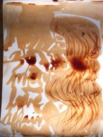 Soya Sauce/Vinegar Painting by FoolsGolde