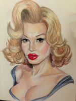 Portrait of Amanda Lepore by MattSimas