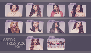 Girls' Generation ~J.ESTINA Folder Pack Part 1~ by FolderOvert