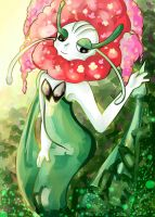 Florges by shuukuun