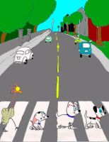 101 Dalmatians on Abbey Road by Trey-Vore