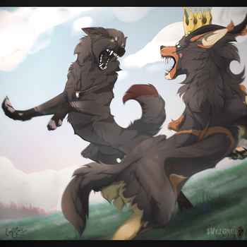 King vs Jarl by Wolgron
