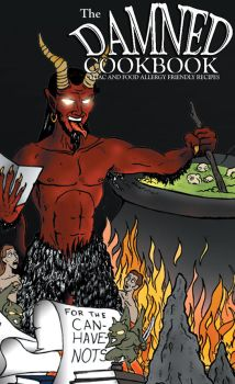The Damned Cookbook Cover by romanysoup
