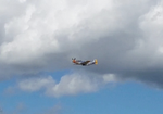 My first picture of a, P-51 Mustang. by Flutterflyraptor