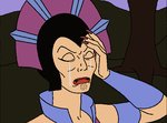 Evil Women Crying: Evil-Lyn 4 by Starmansurfer