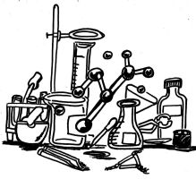 Chemistry Coloring Page by Taiya001
