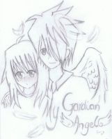 Gardian Angel Fan art by HAPPLES-XD