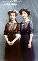 Hedwig and her sister Archduchess Elisabeth by OTMARomanov