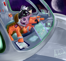 I'M IN SPACE! by archonix