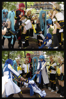 Vocaloid Photoshoot by JadeRaven93