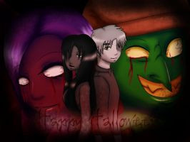 We got bad friends - Halloween by Jellymii