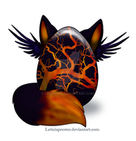 Anthro egg #2-Closed- by Ledronas