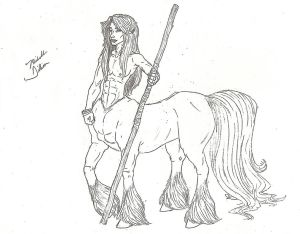 'The Centaur' Rough Draft