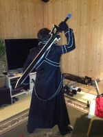 Kirito Cosplay Update by DigiDrawer