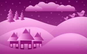 Holiday Wallpaper by Retoucher07030