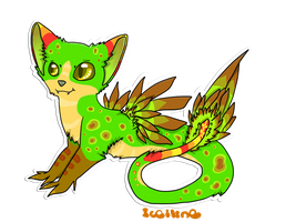 avian snake-cat adoptable CLOSED by iceiline