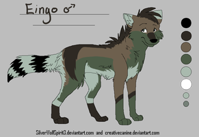 :Eingo:Ref: by NightmareAdoptables
