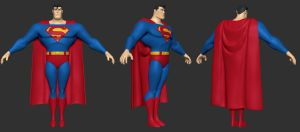 Superman Wip 02 by Thewhyandhow