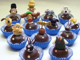 wallace and gromit - truffles by anafuji
