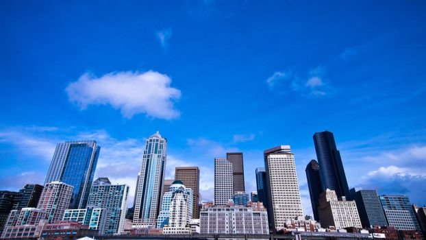 Seattle Wide Angle by OEMminus