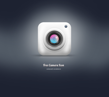 Clean and simple camera icon by srami8