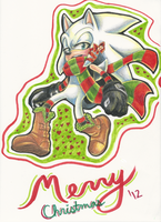 Merry Christmas Elliot 2012 by FlashnTails