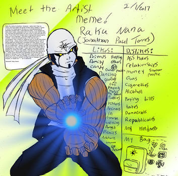 Meet the Artist meme by RakuNana