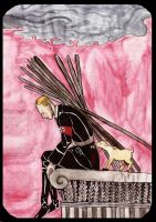Heydrich tarot: ten of wands by hello-heydi