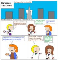 Rampage: The Comic by hmcvirgo92