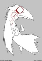 White Raven by lemontea