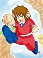 Alex Kidd in Miracle World by Kanuky