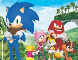 Sonic Boom Cover Photo by LukeVei-Da-Hedgehog