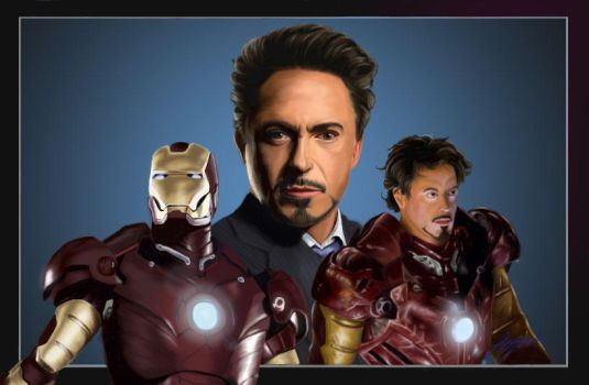 Tony Stark is Iron Man by Evaliir