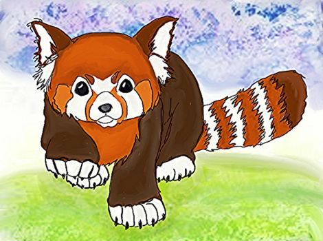 Red panda by artlover2289