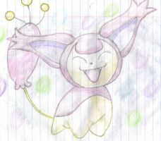 Playful Skitty by XxPaperLacexX