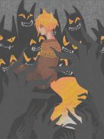 Fox and the Wolf by Kazimir29