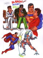 Superman Sketches 3 by Jochimus