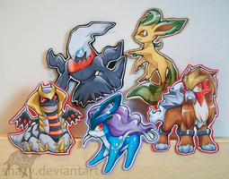 Poke-Badges 2 by shazy