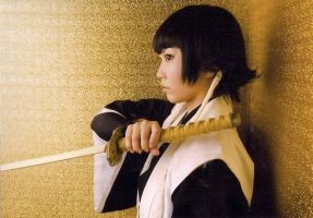 Bleach rock musical Soi Fon by wolf-speaker9