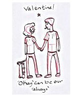 Valentines day 2 TFIOS by guavajagular