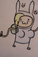 Adventure Time Fionna meow by AerisSs