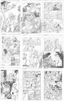 Jungle Girl pages by Adrianohq