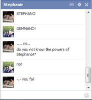 WHY YOU NO KNOW STEPHANO! by ImDeathTheKid