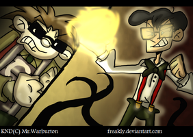 -KND- Monty VS Benedict by Freakly-Show