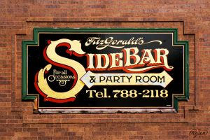 Fitzgeralds Sidebar by red5