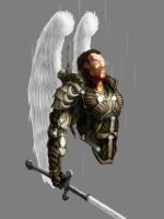 armored angel by Kevinusprime