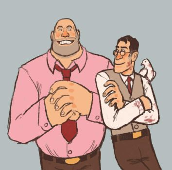 THAT HEAVY IS WEARING PINK by TimeLordEnglish