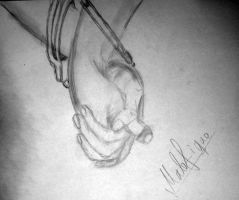 Holding hands :- 35 -: by malefique