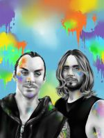 Leto Brothers by junfender
